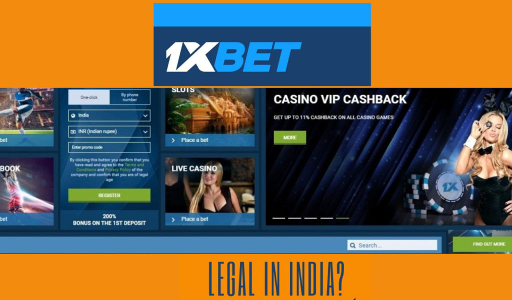 In India 1XBet site has more than thousands of players gambling
