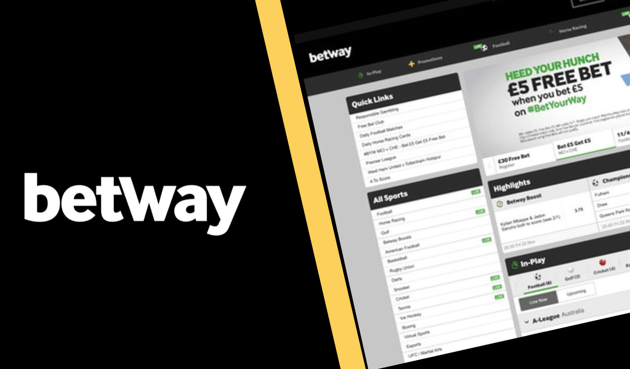 Betway is a well-known betting site