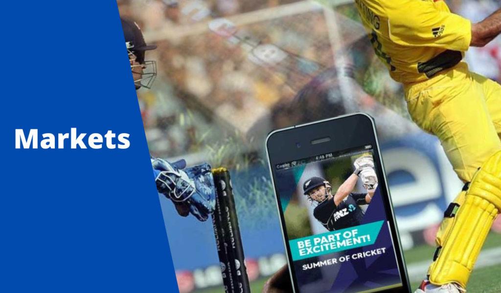 Cricket Betting Markets