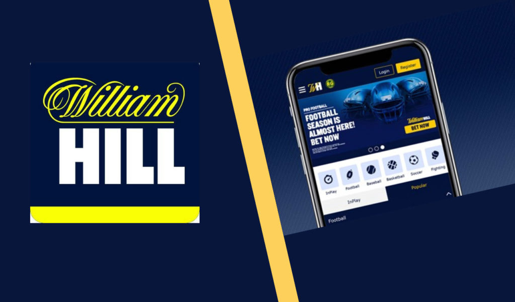 William Hill Online betting apps